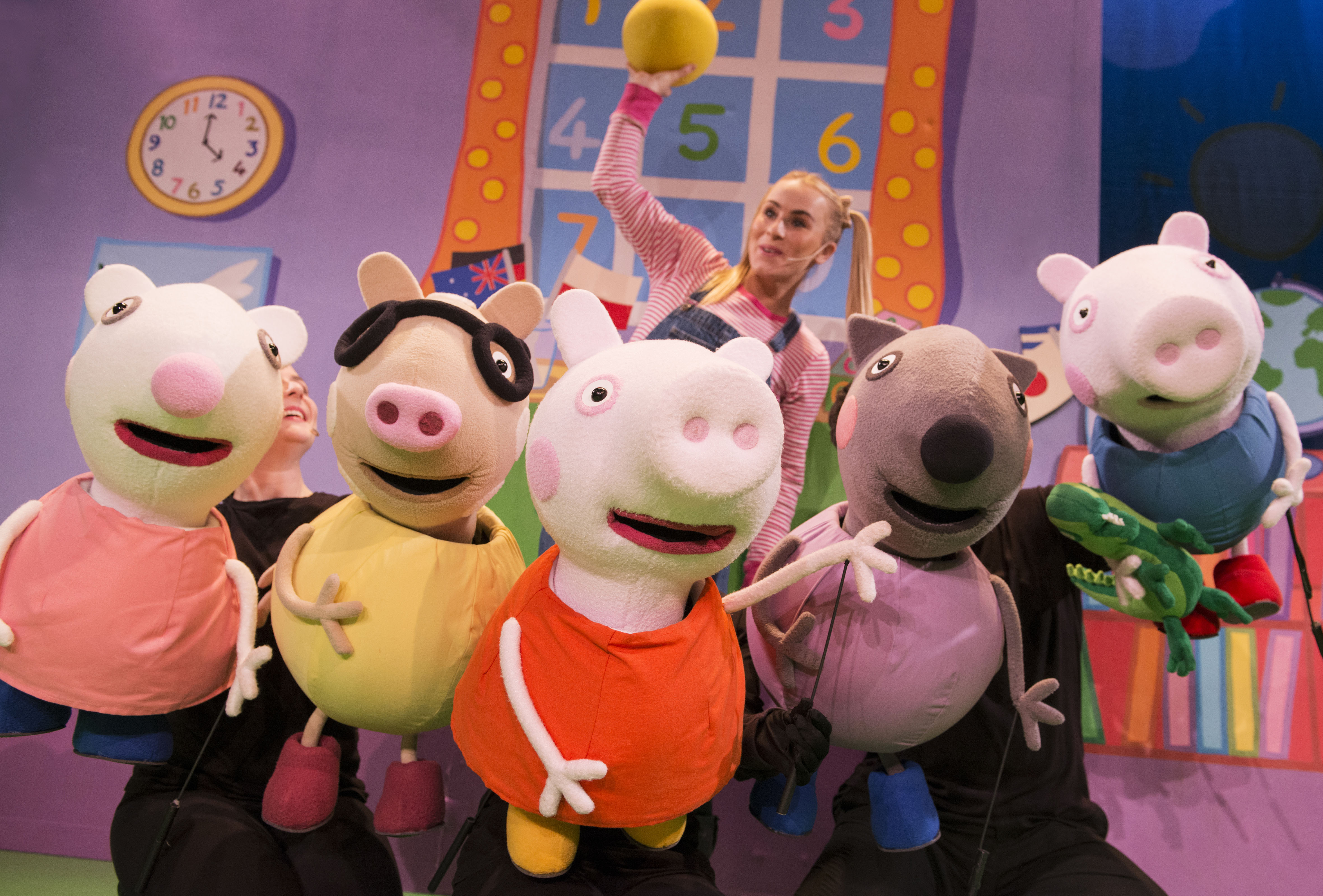 Competition Win With Peppa Pig Live Wishes Wellies